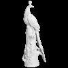 """Фигура """"ЭКСКЛЮЗИВНАЯ КОЛЛЕКЦИЯ БОЛЬШАЯ СКУЛЬПТУРА ПАВЛИН НА СТВОЛЕ"""", 000080-76M07  H-121x29 cm"""
