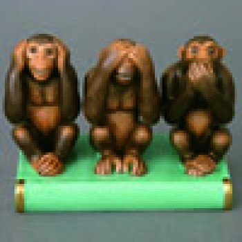 "Фигурка ""3 обезьянки"""