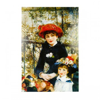 """фарфоровый пласт """"Две сестры"""" (Weimar) 30*40"""