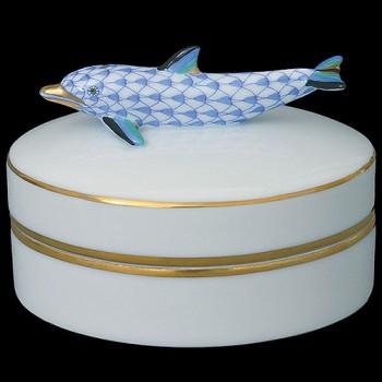 Шкатулка с дельфином