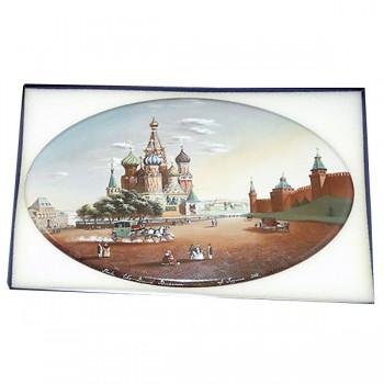 """Фарфоровый пласт """"Кремль, Москва"""" (Weimar)"""