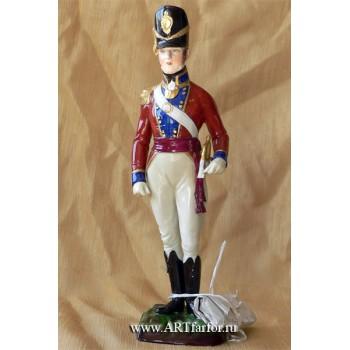 Coldstream Guards Officier Field Order 1815
