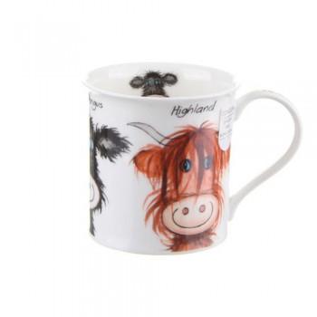 Bute Mugshots Scottish Cow
