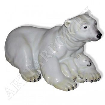 """Фигурка """"Полярная медведица с медвежонком"""""""
