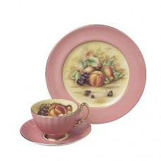 Набор чайный (чашка с блюдцем и тарелка)