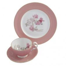 Набор чайный (чашка с блюдцем и тарелка) 3054