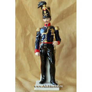 Officier de L' artillerie montee