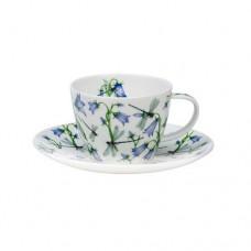 Чашка с блюдцем Dovedale Harebe