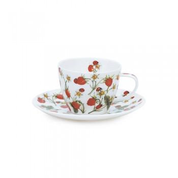 Чашка с блюдцем Dovedale Strawberry