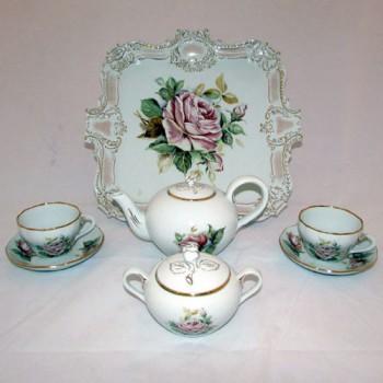 Чайный тет-а-тет с розой