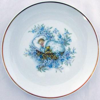 Настенная тарелка Малыш