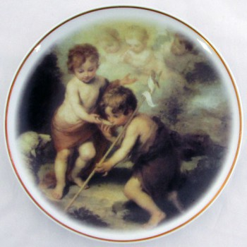 Настенная тарелка Мурильо