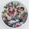 Настенная тарелка Розы в вазе