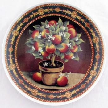 Настенная тарелка Фруктовое дерево