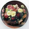 Настенная тарелка Розы в корзине