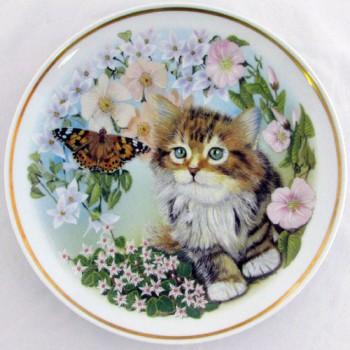 Настенная тарелка Кошки