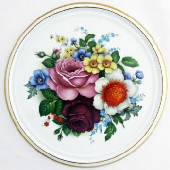 Фарфоровый пласт Цветы