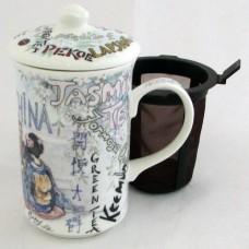 Кружка со штофером Tea ceremony