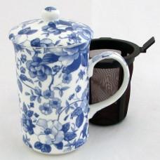 Кружка со штофером Chatsworth blue