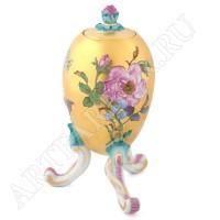 Шкатулка-Яйцо с цветками Мейсен