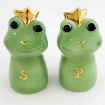 Набор соль-перец Лягушки