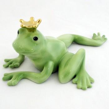 Фигурка Лягушка Фридолин с короной