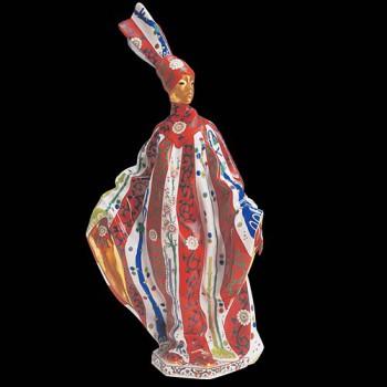 Женщина в карнавальном костюме
