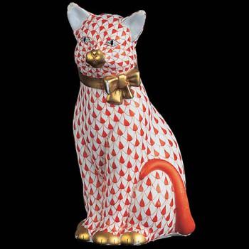 Кошка с колокольчиком