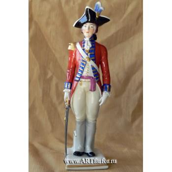 Гвардейский офицер 18 века