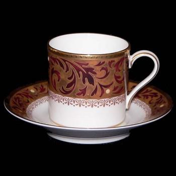 Кофейная чашка и блюдце