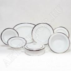 Чайно-обеденный сервиз Chatelaine Platinum