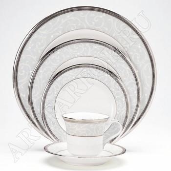 Чайно-обеденный сервиз Leonore Platinum