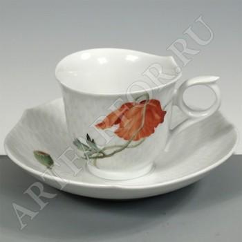 Чашка с блюдцем для эспрессо Meissen