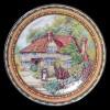 """Настенные тарелки """"Домик в деревне"""""""