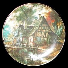"""Настенные тарелки """"Старые дома"""""""