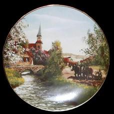 """Настенные тарелки """"Церковь"""""""