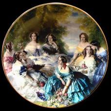 "Настенные тарелки ""Дамы 1850 года"""