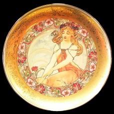 """Настенные тарелки """"Salamanca А. Муха"""""""