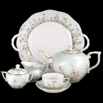 Чайный сервиз QS декор Четыре Времени года