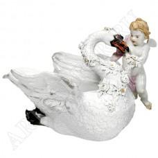 """Соусник """"Лебедь с ангелом"""""""