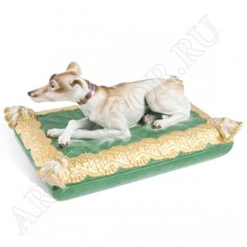 Шкатулка с собакой Мейсен