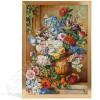 """Картина на фарфоре """"Натюрморт с вазой"""""""