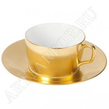 Чашка с блюдцем для капучино