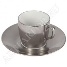 Чашка с блюдцем для эспрессо
