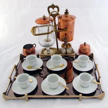 Кофеварка с набором