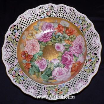 Декоративная тарелка настенная