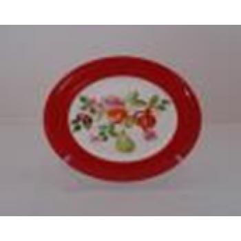 Пирожковая тарелка  Eden Red