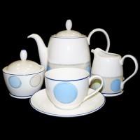 Чайно-обеденный сервиз Java Blue