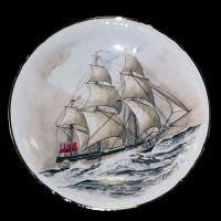 """Настенные тарелки """"Старые корабли"""""""