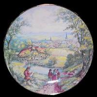 """Настенные тарелки """"Итальянские пейзажи"""""""